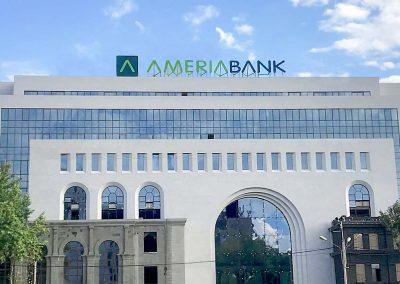 Channel Letter for Ameria Bank