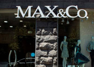 MAX&Co Custom channel letters