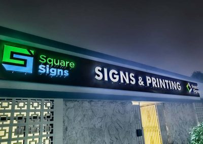 SquareSigns , FrontSigns Channel Letter with lights