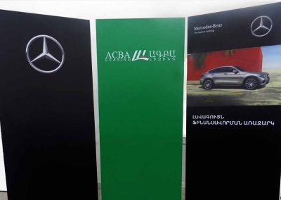business stand signs