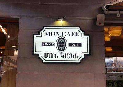 light box sign for cafes