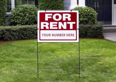 stand signs for rent