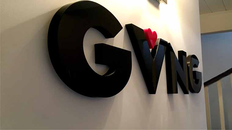 Custom Acrylic Dimensional Letters for our partners at GVNG