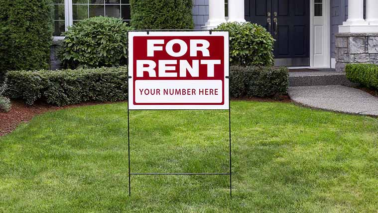 Direct Printed Aluminum Real Estate For Rent Sign