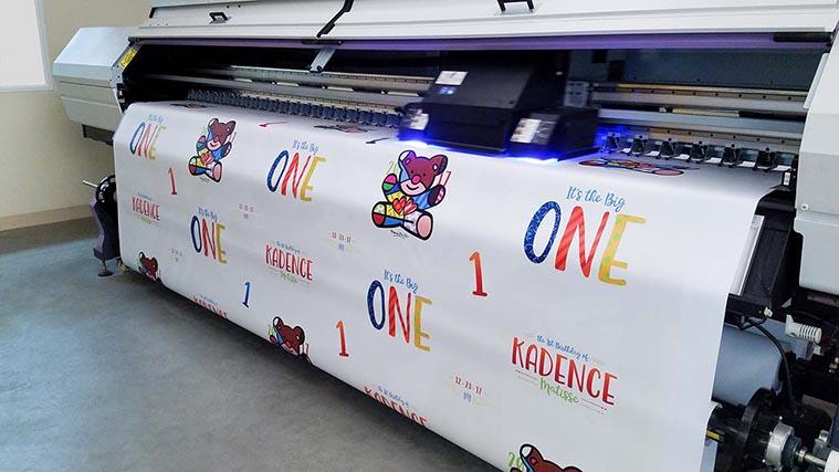 Birthday banner printing