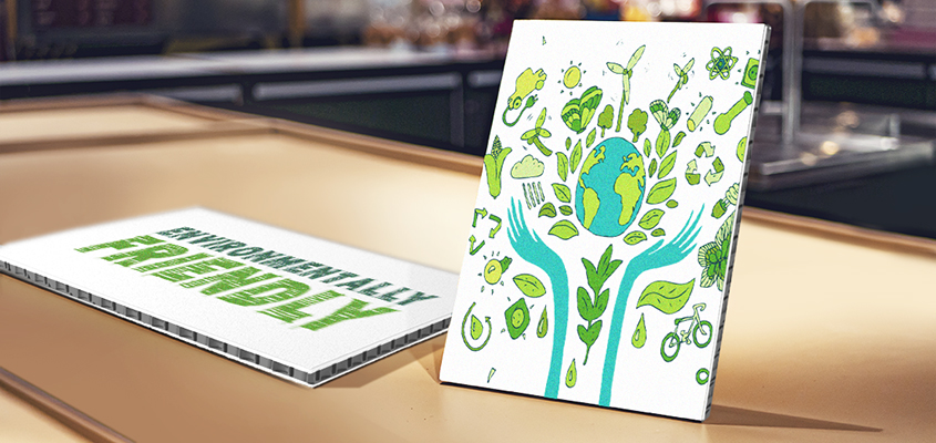 Bubble Boards as eco-friendly promotional materials