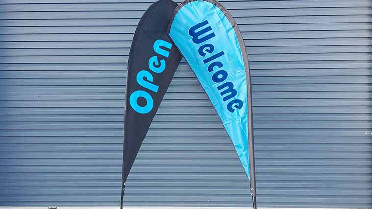 Business Fabric Banners