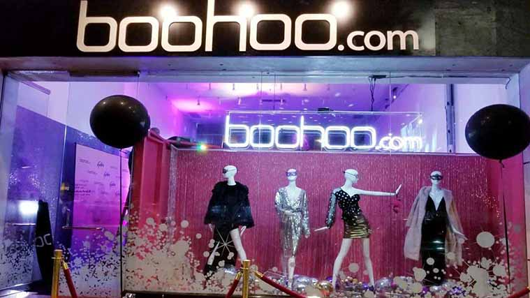 Custom-made Acrylic Letters for our partners at Boohoo