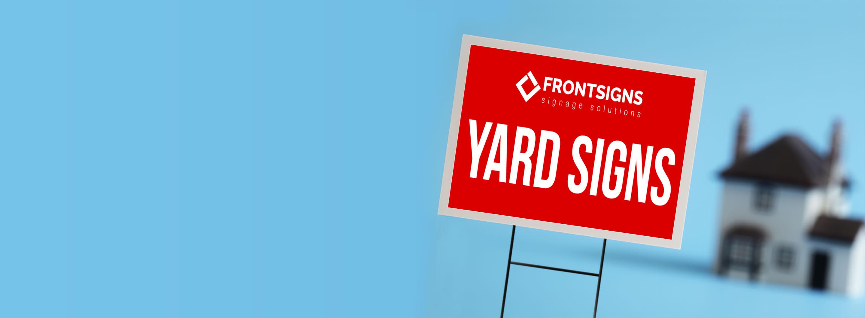 Custom Dee Signs, Yard Signs in Van Nuys