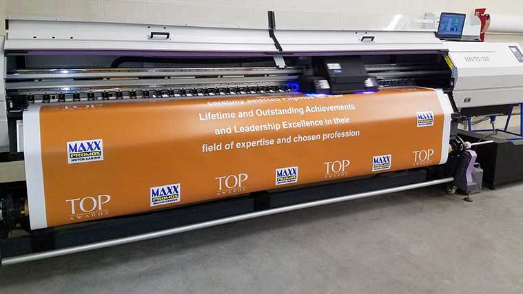 Customized banner printing
