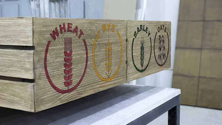 Custom Direct Printed high-quality Wooden Interior Sign