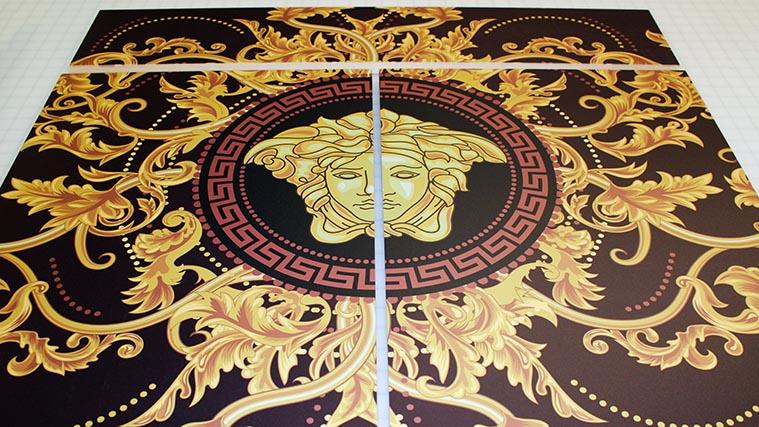 Direct printing on wood