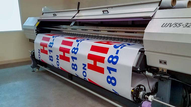 High-quality banner printing