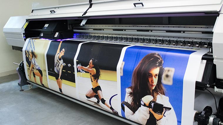 Large vinyl banner printing