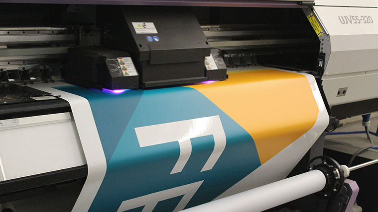Logo digital printing process