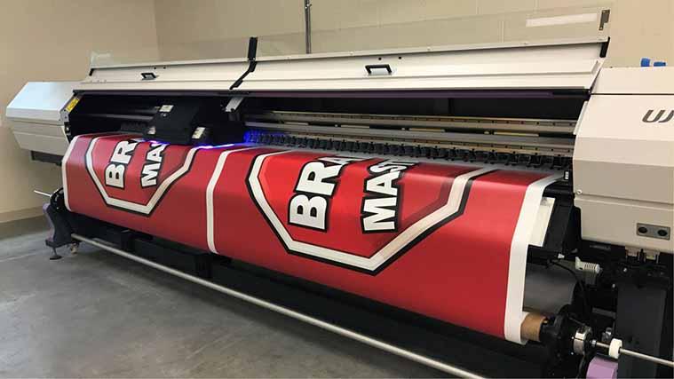 Premium-quality banner printing