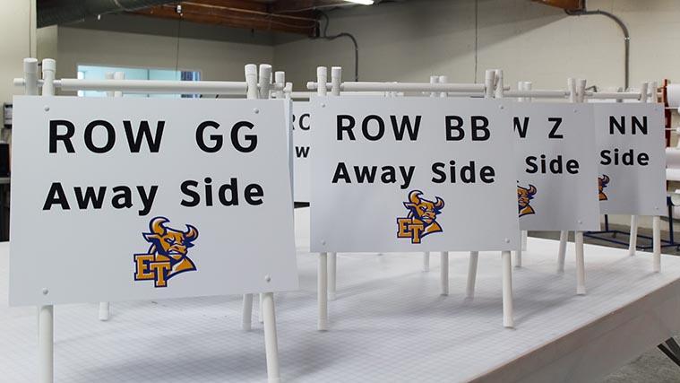 Printed styrene boards