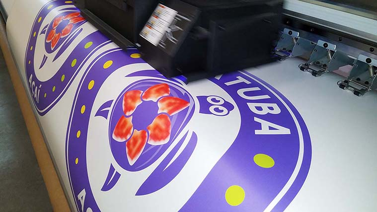 Printing a high-quality Colorful Vinyl Decal