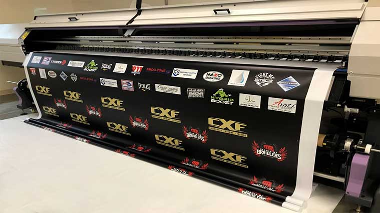 Process of banner printing
