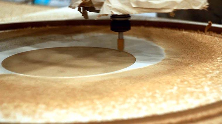 Process of wood engraving