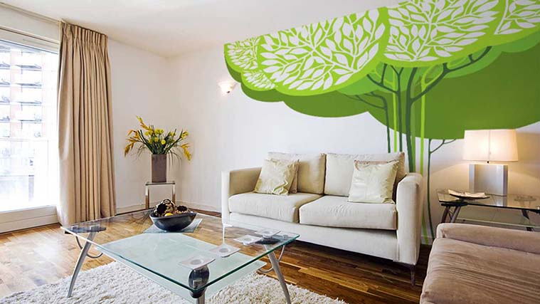 Decorative Vinyl Wall Decals for any interior usage