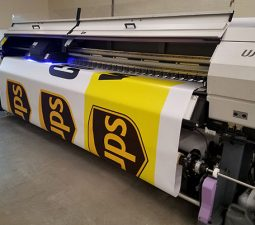 UPS vinyl banner printing