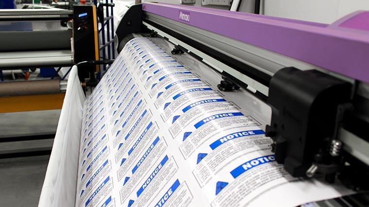 UV curing printer