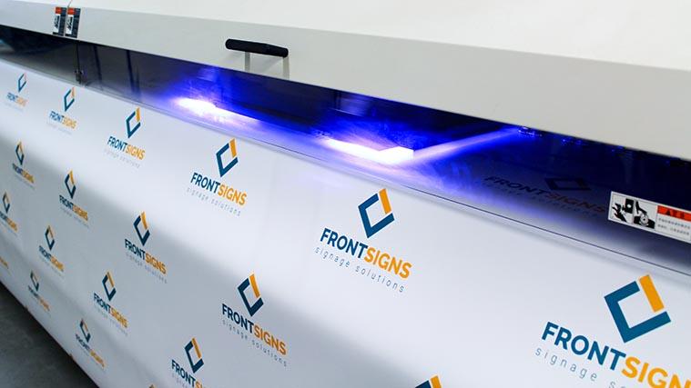UV ink banner printing
