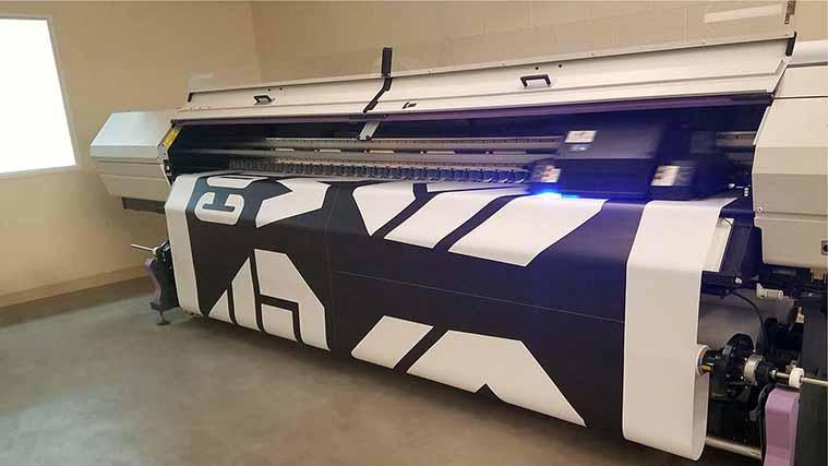 UV inks printing process