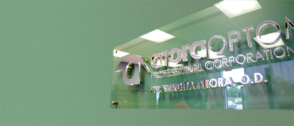reflective vinyl sign with green background