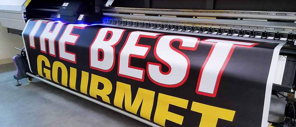 The best gourmet banner printing on vinyl - Front signs