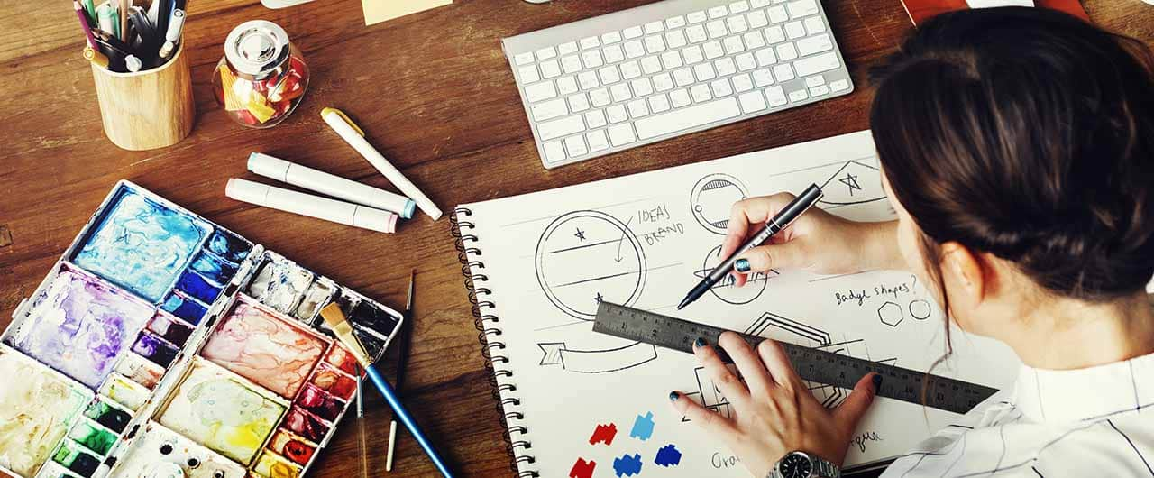 Creative logo design process