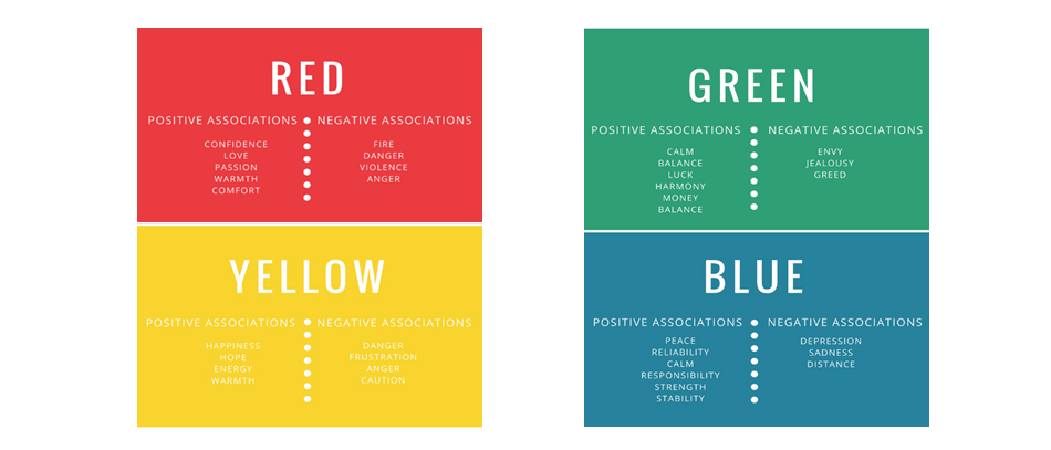 Color matters infographics