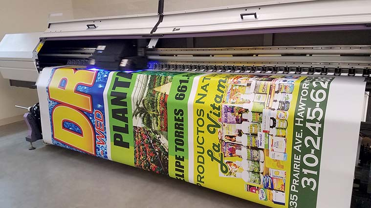 commercial banner printing
