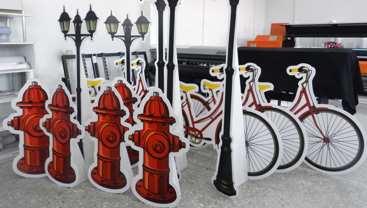 decorative pvc stands