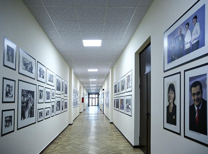 hallway achievement boards