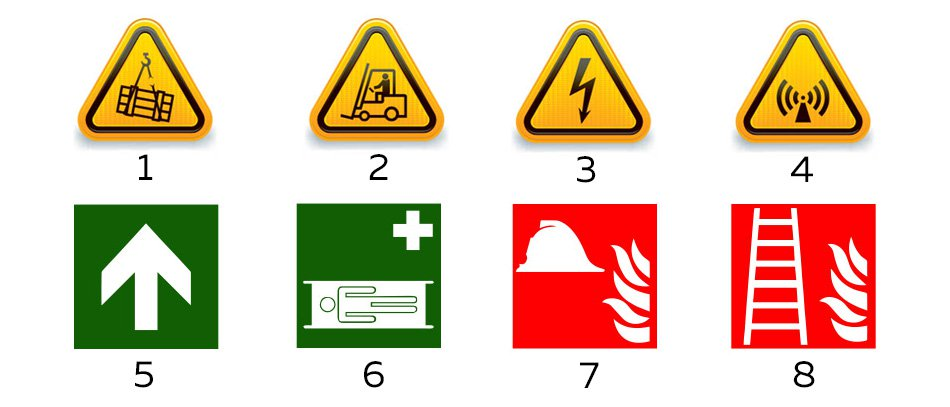 health and emergency signs