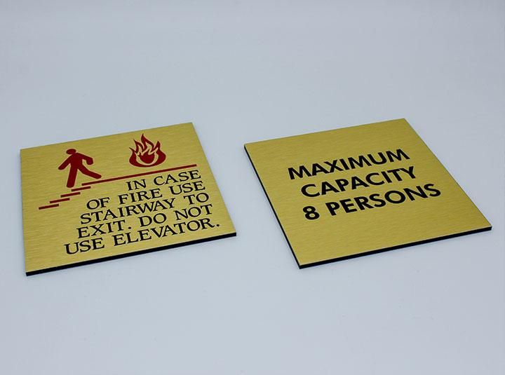 indoor information boards