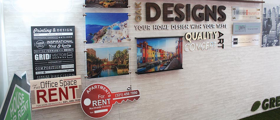 DESIGNS real estate business sign