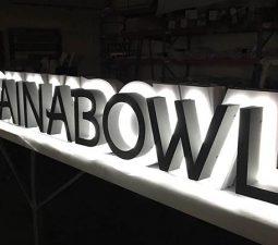 reverse lit channel letters
