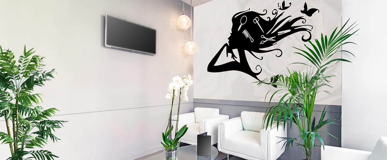 modern wall decals for interior layout