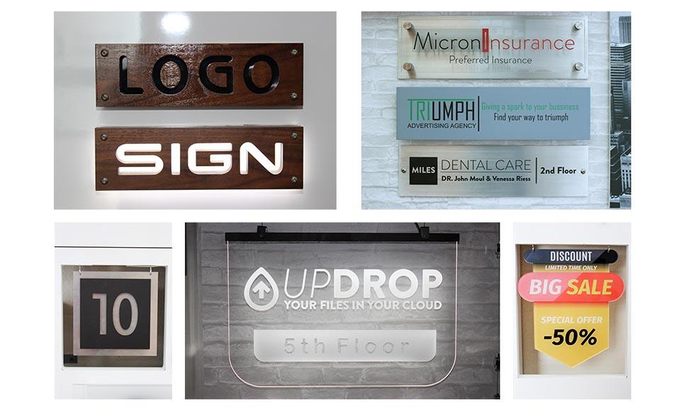 channel letter plaques sign