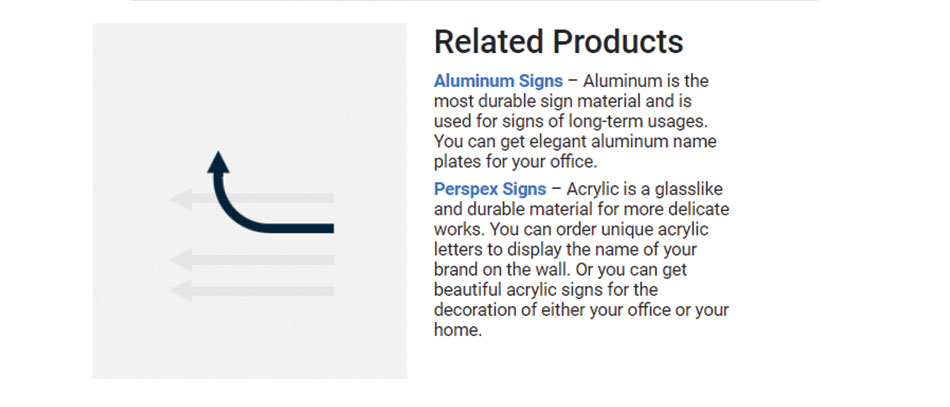 Related-products-section-at-Front-Signs