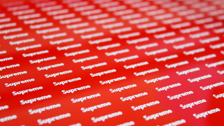Supreme Sticker Prints