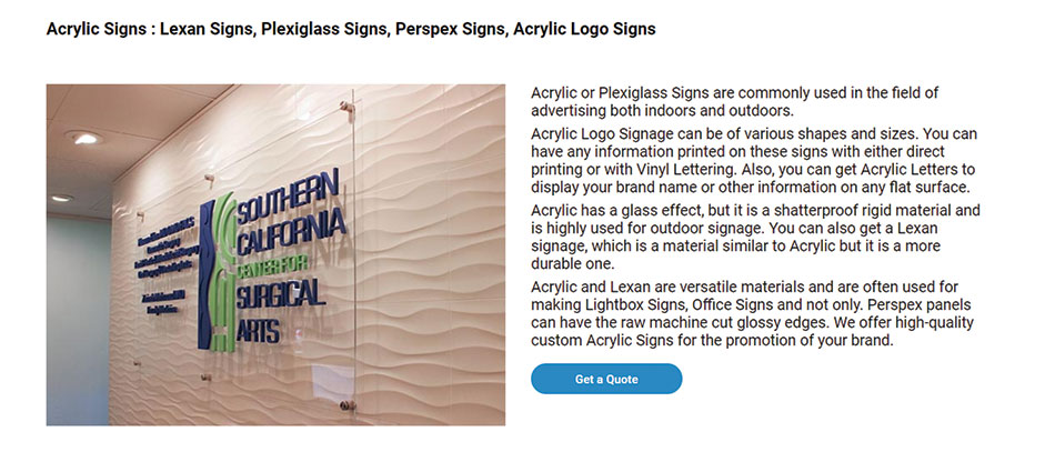acrylic-sign-description