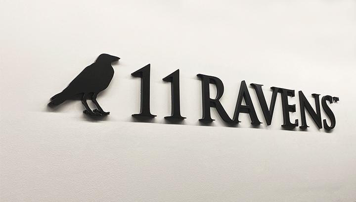 11-ravens-acrylic-letters