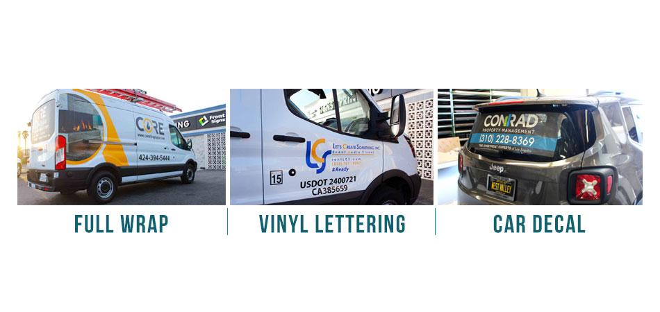 car branding types
