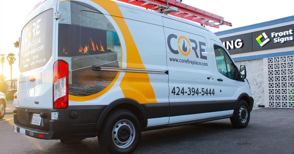 core vehicle branding
