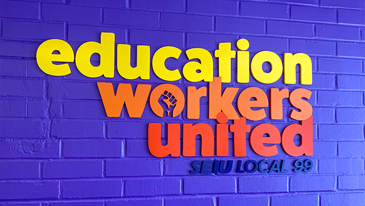 education-workers-united-3d-letters