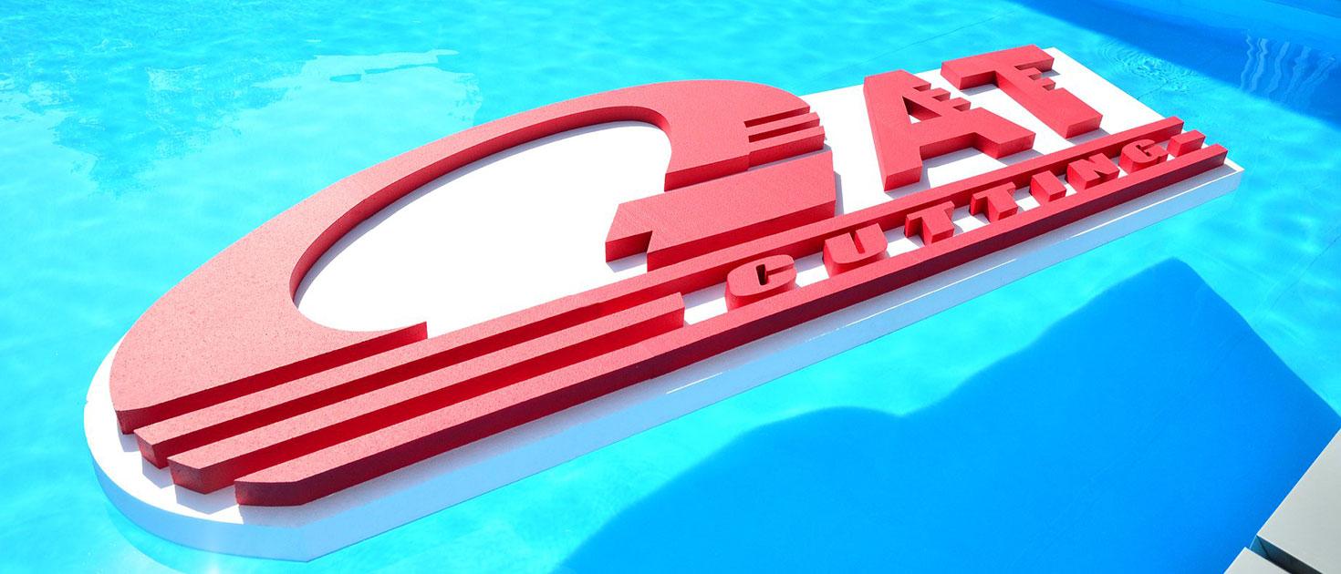 3D foam core sign